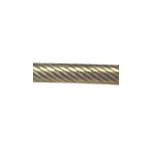 Picture of 4mm 1 X 19 Yacht and dinghy riging wire
