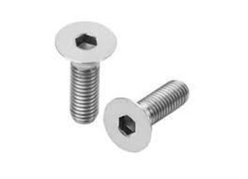 Picture of M5 x 50mm Countersunk Allen head Bolt A4 316 x 10