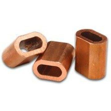 Picture of 10 x 2.5mm Copper Ferrules