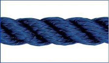 Picture of 8mm Liros 3 strand Nylon Anchoring and Mooring Rope